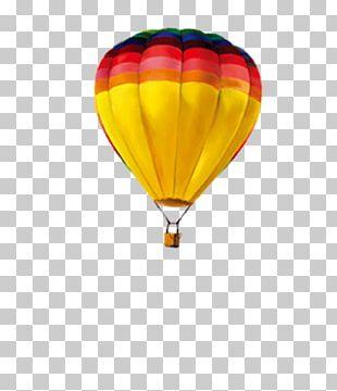 Summer Hot Air Balloon PNG