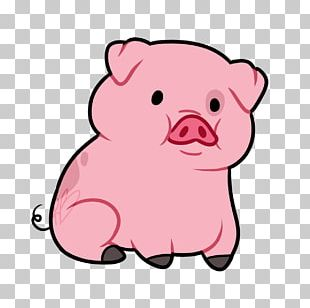 Domestic Pig Animated Cartoon PNG