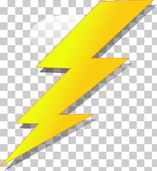 Lightning Strike Cartoon PNG