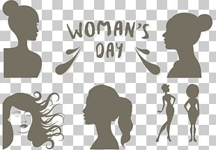 International Womens Day Woman Illustration PNG
