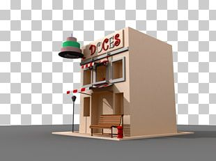 Candy Shop 3D Modeling 3D Computer Graphics Autodesk Maya House PNG