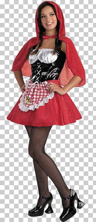 Little Red Riding Hood Halloween Costume Big Bad Wolf PNG