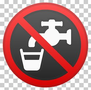 Sign Drinking Water Emoji Noto Fonts PNG