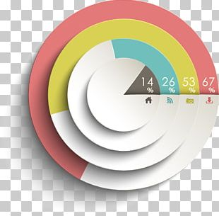 Pie Chart Infographic Diagram PNG