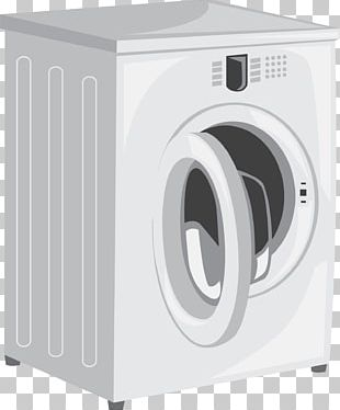 Washing Machine Home Appliance Laundry Room PNG