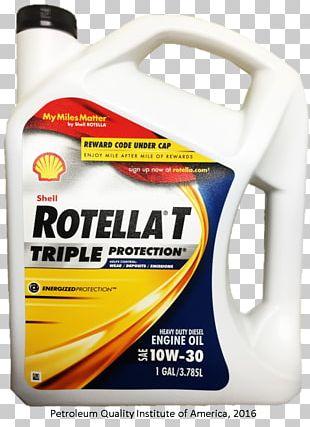 Car Shell Rotella T Motor Oil Royal Dutch Shell Diesel Fuel PNG