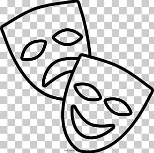 Theatre Mask Drama Drawing Tragedy PNG