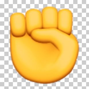 Emoji Raised Fist IPhone Text Messaging Meaning PNG