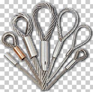 Wire Rope Steel Galvanization PNG