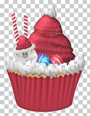 Cupcake Christmas Cake Birthday Cake Christmas Pudding Muffin PNG