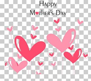 Mother's Day Gift Card Template PNG