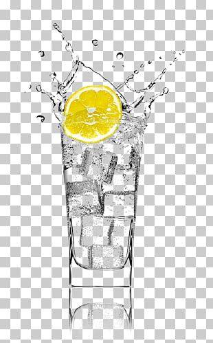 Gin And Tonic Soft Drink Lemonsoda Juice Tea PNG