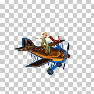 The Little Prince Child Party Airplane PNG