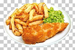 Fish And Chips Beer French Fries Chicken Sandwich Chicken Fingers PNG