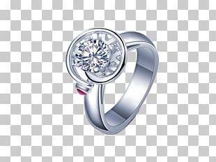 Diamond Ring Platinum Gold PNG