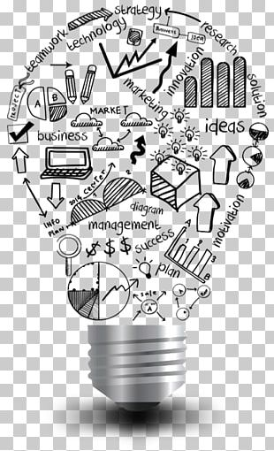 Incandescent Light Bulb Microsoft PowerPoint Idea Presentation PNG