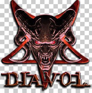 Time Destroy & Alex Greenhouse Devils Crew Logo Skull Font PNG