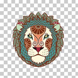 Leo Zodiac Astrological Sign Astrology Horoscope PNG