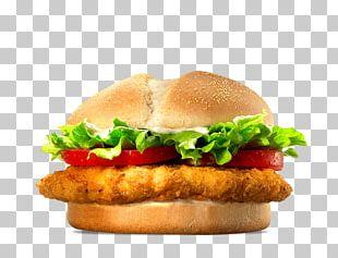 Chicken Sandwich TenderCrisp Hamburger Burger King Specialty Sandwiches Whopper PNG