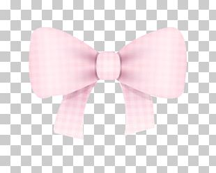 Bow Tie Pink Pattern PNG