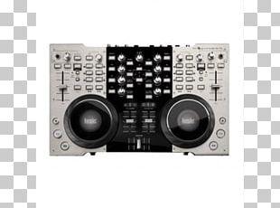 DJ Controller Disc Jockey Audio Mixers Virtual DJ Musician PNG