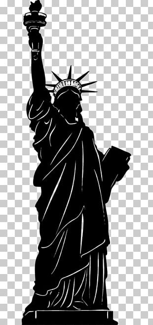 Statue Of Liberty Wall Decal Sticker PNG