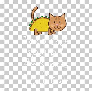 Kitten Whiskers Cat T-shirt Crew Neck PNG