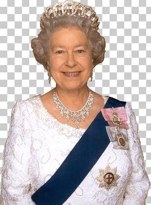 Queen Elizabeth Close Up PNG