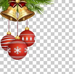 Santa Claus Christmas Tree Gift Christmas Card PNG