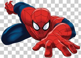 Spiderman Lying Down PNG
