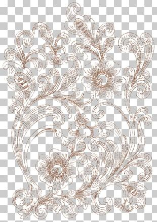 Flower Drawing Ornament PNG