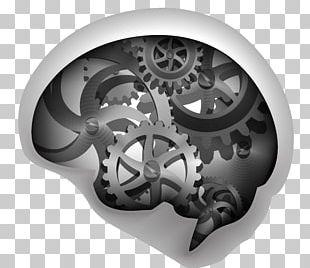 Human Brain Gear Euclidean PNG