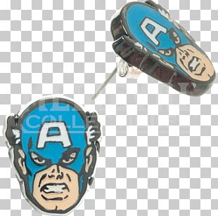 Spider-Man Captain America Iron Man Earring Black Panther PNG