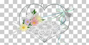 Floral Design Cut Flowers Lace MMD PNG