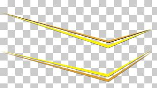 Paper Angle Yellow PNG