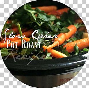 Pot Roast Vegetarian Cuisine Recipe Slow Cookers Food PNG