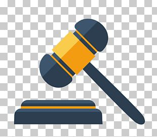 Judge Hammer Gavel Court Law & Justice PNG