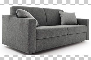 Couch Furniture Bed Chaise Longue Wing Chair PNG