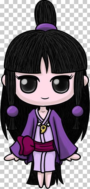 Black Hair Character Fiction PNG