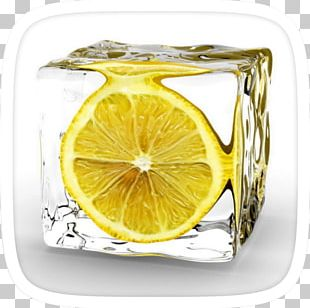 Iced Tea Ice Cube Juice Lemon Ice Cream PNG