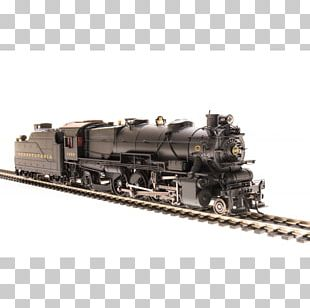 Pennsylvania Railroad Rail Transport Train Broadway Limited Imports HO Scale PNG