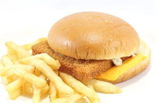 Fast Food Hamburger French Fries Filet-O-Fish Breakfast Sandwich PNG