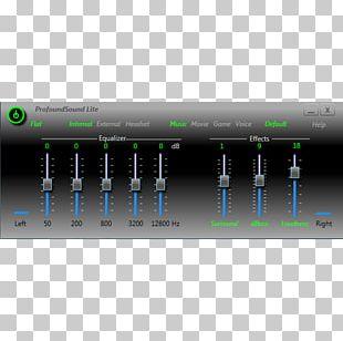 Laptop Computer Software Sound Retrieval System Equalization PNG