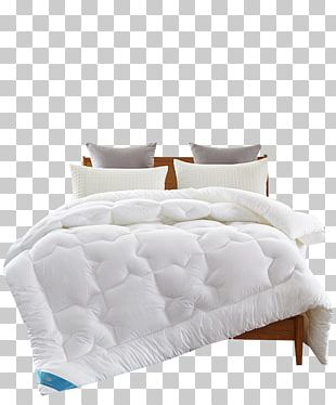 Bed Frame Mattress Quilt Duvet PNG