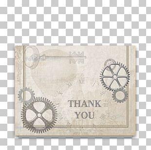 Paper Industry Wedding Industrial Style Letter Of Thanks PNG