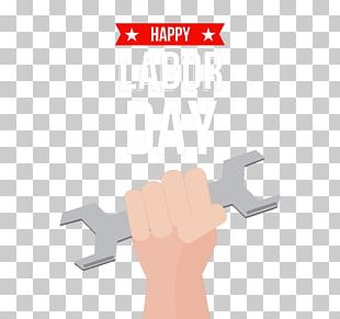 Wrench Labor Day Icon PNG