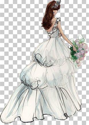 Wedding Invitation Bride Wedding Dress PNG