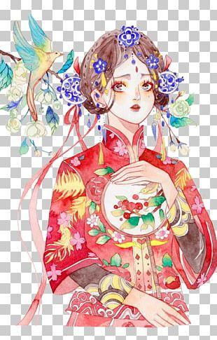 Bride Illustration PNG