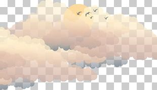 Painted Clouds Obscured The Sun PNG