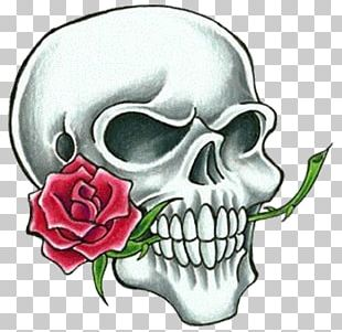 Tattoo Human Skull Symbolism Drawing PNG